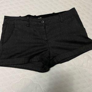 Dark grey sophisticated shorts